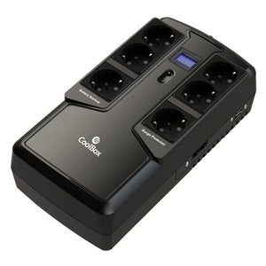 Offline UPS CoolBox COO-SAISCU2-800 480W Black-Universal Store London™