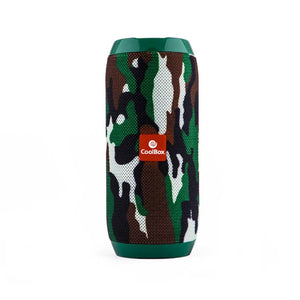 Bluetooth Speakers CoolBox COOLTUBE 10W 1200 mAh FM Camouflage-Universal Store London™