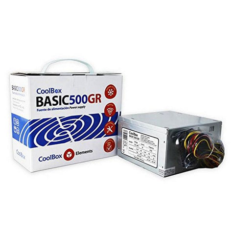 Power supply CoolBox COO-FA500BGR 500W-Universal Store London™
