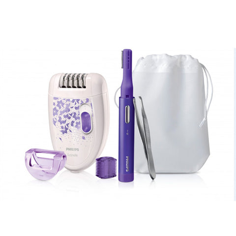 Electric Hair Remover Philips HP6543/00 Violet White-Universal Store London™