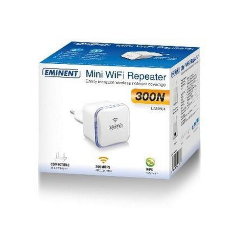 Access Point Repeater Eminent EM4594 2.4 GHz White-Universal Store London™