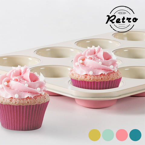 Image of Retro Cupcake Mould-Universal Store London™