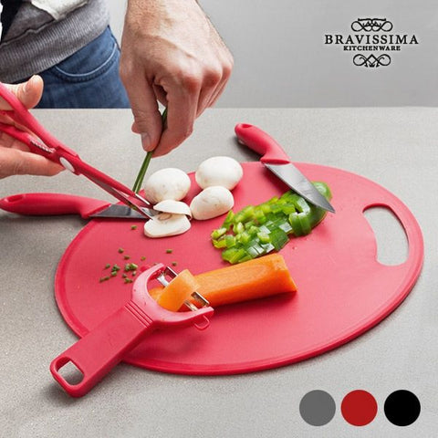 Chopping Board with Accessories (5 pieces)-Universal Store London™