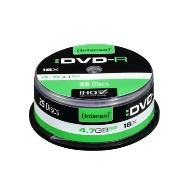 DVD-R INTENSO 4101154 16x 4.7 GB 25 pcs-Universal Store London™