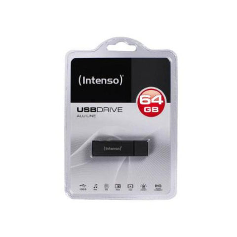 Image of USB and Micro USB Memory Stick INTENSO 3521491 32 GB Anthracite-Universal Store London™