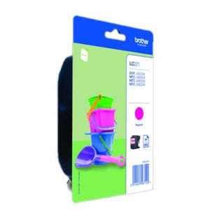 Original Ink Cartridge Brother LC221MBP Magenta-Universal Store London™