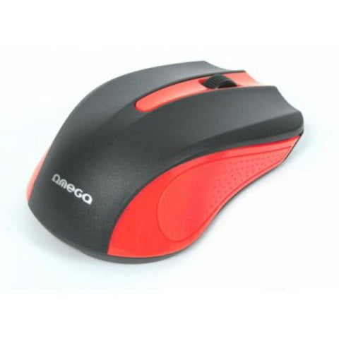 Image of Optical mouse Omega OM05R 1000 DPI Red-Universal Store London™