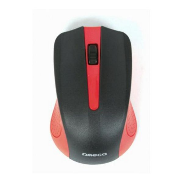 Optical mouse Omega OM05R 1000 DPI Red-Universal Store London™