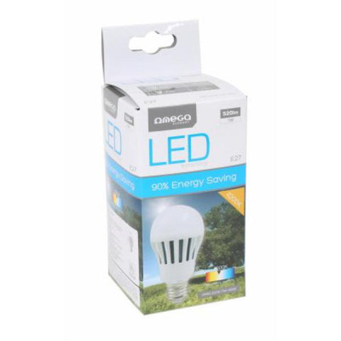 Image of Spherical LED Light Bulb Omega E27 7W 520 lm 4200 K Natural light-Universal Store London™