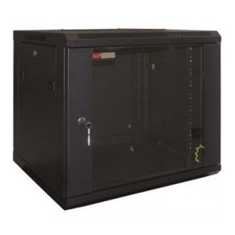 Wall-mounted Rack Cabinet WP WPN-RWB-12606- 12 U 600 x 600 x 635 mm Black-Universal Store London™