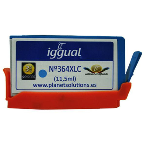 Image of Recycled Ink Cartridge iggual HP PSICB323EE Cyan-Universal Store London™