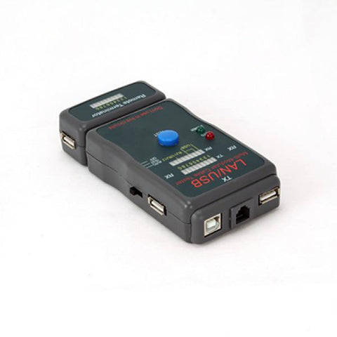 Image of Network Cable Tester iggual PSINCT-2 RJ45 RJ11-Universal Store London™