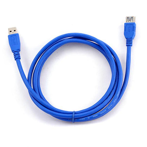 Image of USB Cable 3.0 iggual PSICCP-USB3-AM 2 m Blue-Universal Store London™