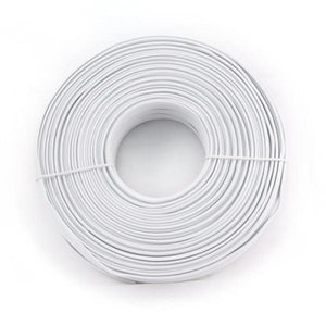 4 Wire Telephone Cable iggual IGG309636 100 m White-Universal Store London™