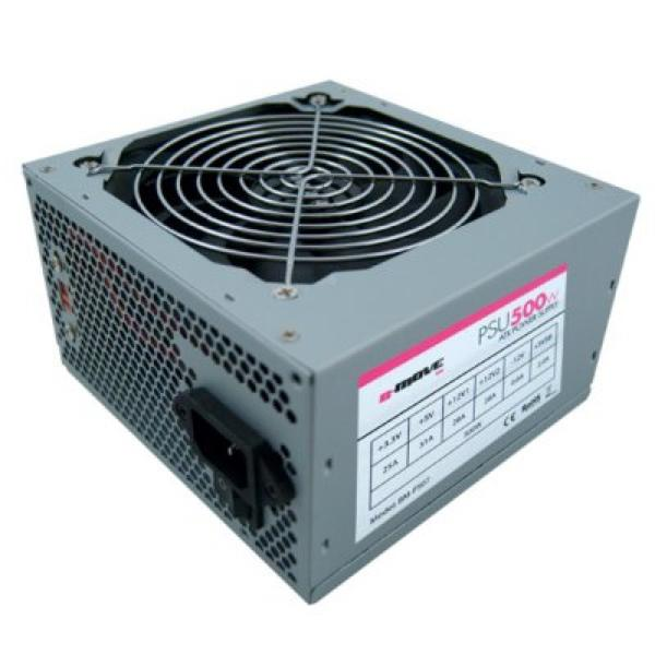 Power supply B-Move Bulk Series BM500WB ATX 550W Silver-covered-Universal Store London™
