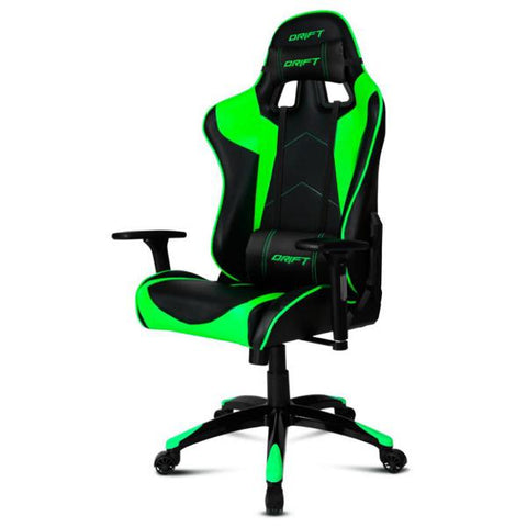 Gaming Chair DRIFT DR300BG 90-160º Foam Black Green-Universal Store London™