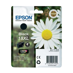 Original Ink Cartridge Epson C13T18114010 Black-Universal Store London™