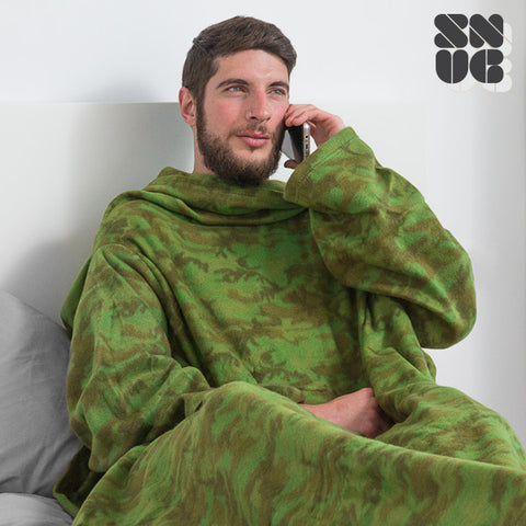 Extra Soft Snug Snug Blanket with Sleeves for Adults | Original Patterns-Universal Store London™