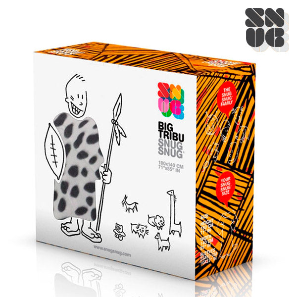 Big Tribe Snug Snug Blanket with Sleeves-Universal Store London™
