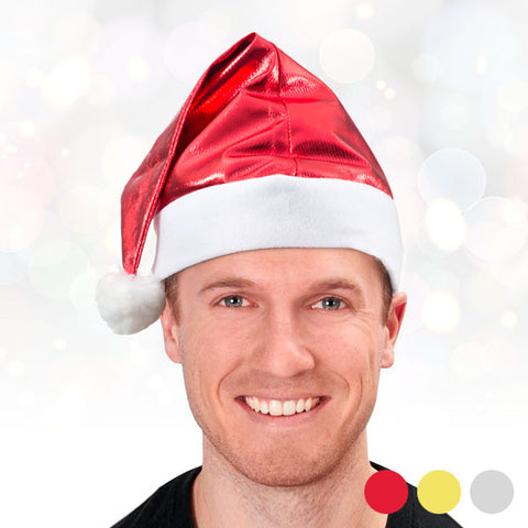 Image of Metallic Santa Claus Hat-Universal Store London™
