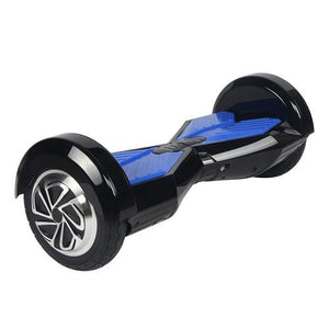 Megawheels TW02-1 8-Inch Hoverboard Black + Blue-Universal Store London™