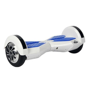 Megawheels TW02-1 8-Inch Hoverboard White + Blue