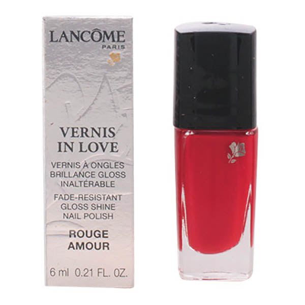 Lancome - VERNIS IN LOVE 160N-rouge amour 6 ml-Universal Store London™
