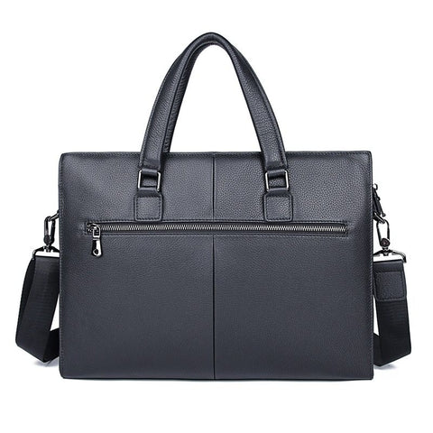 'Regent' Leather Briefcase-Universal Store London™