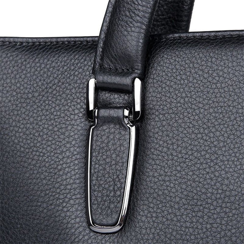 Image of 'Regent' Leather Briefcase-Universal Store London™