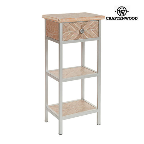 Small Side Table Mdf (46 x 33 x 98 cm) by Craftenwood-Universal Store London™