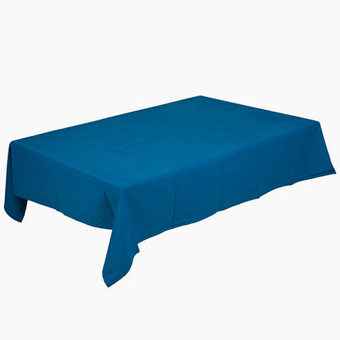 Image of Tablecloth (135 x 200 x 0,05 cm) Blue-Universal Store London™