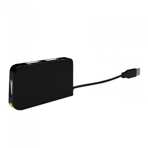 Image of 4-Port USB Hub approx! APPHT4BK USB 2.0 Black-Universal Store London™