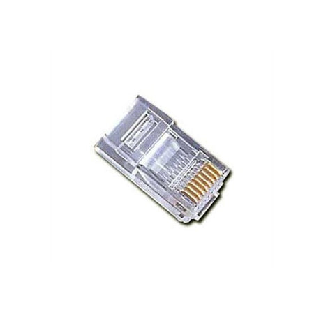 Category 6 UTP RJ45 Connector iggual IGG314425 (100 pcs)-Universal Store London™