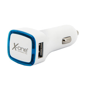Car Charger Ref. 138406 2 x USB-A White Blue-Universal Store London™