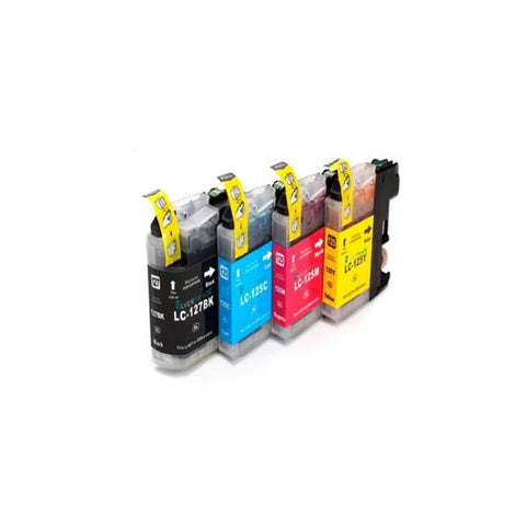 Recycled Ink Cartridge Inkoem M-LC127BK Black-Universal Store London™