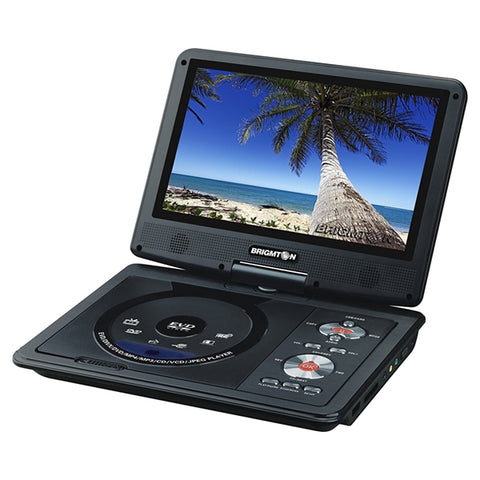 "DVD Player BRIGMTON BDVD-1093 9"" USB Black-Universal Store London™"