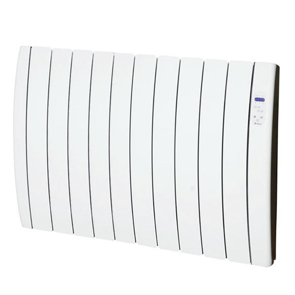 Digital Ceramic Heater (12 chamber) Haverland RC12TT Inerzia 1800W Curved White-Universal Store London™