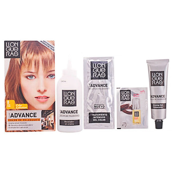 Llongueras - LLONGUERAS COLOR ADVANCE hair colour 8,1-light blond cender-Universal Store London™