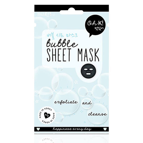 Facial Mask Bubble Exfoliate Oh K! (20 ml)-Universal Store London™