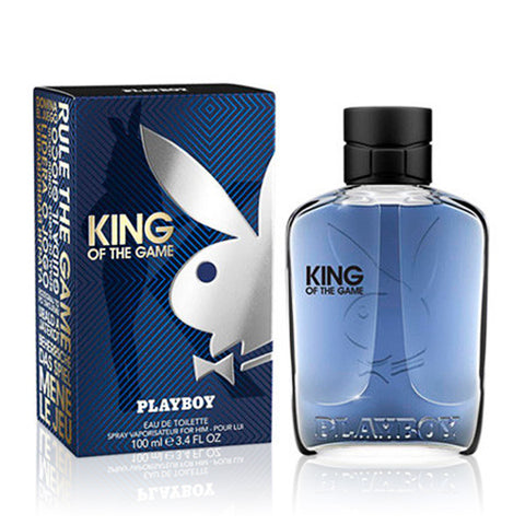 Men's Perfume King Of The Game Playboy EDT (100 ml)-Universal Store London™
