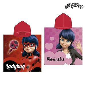 Poncho-Towel with Hood Lady Bug 778-Universal Store London™