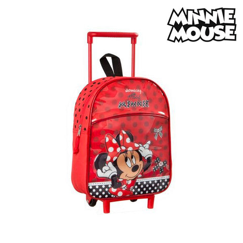 Image of School Rucksack with Wheels Minnie Mouse 3042-Universal Store London™