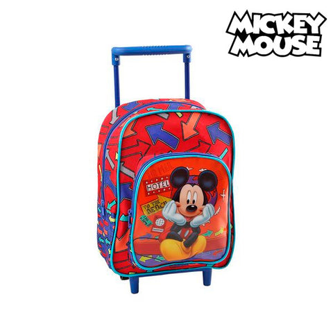 School Rucksack with Wheels Mickey Mouse 1834-Universal Store London™