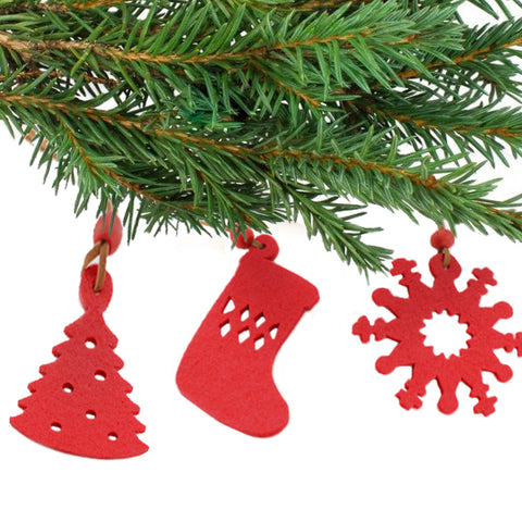 Christmas Decorations Set (9 pcs) 143421-Universal Store London™
