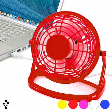 Mini Fan with USB for Computer 144389-Universal Store London™
