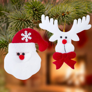 Christmas Decorations Set (2 pcs) 145105-Universal Store London™