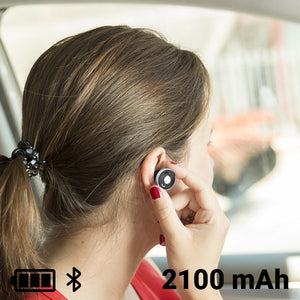 USB Car Charger with Hands Free Headset 2100 mAh Bluetooth 145527-Universal Store London™