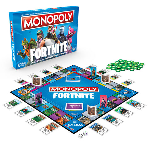 Image of Fortnite Monopoly Hasbro-Universal Store London™