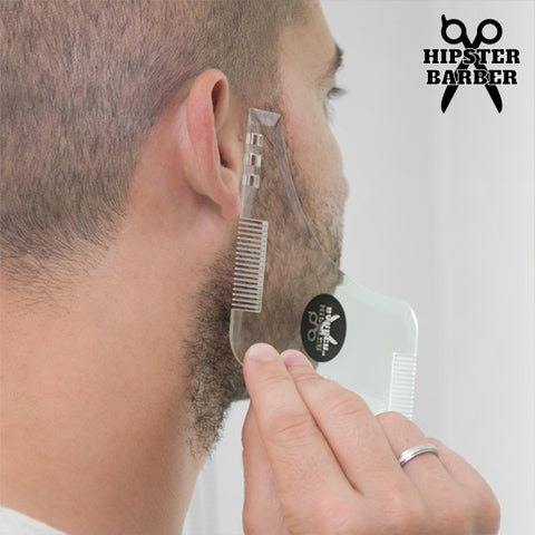 Image of Beard Template Beard Mold with Shaving Combs-Universal Store London™