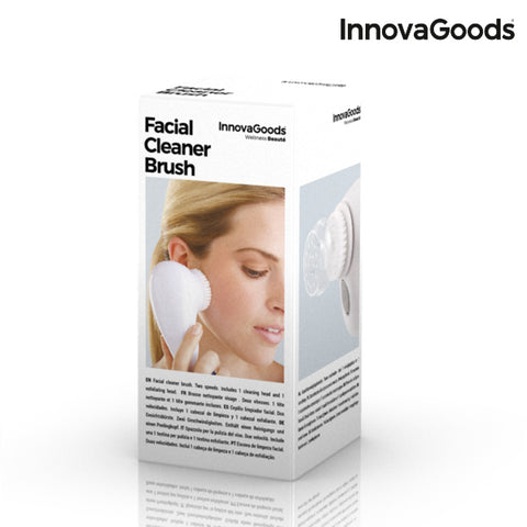 InnovaGoods Facial Cleansing Brush-Universal Store London™